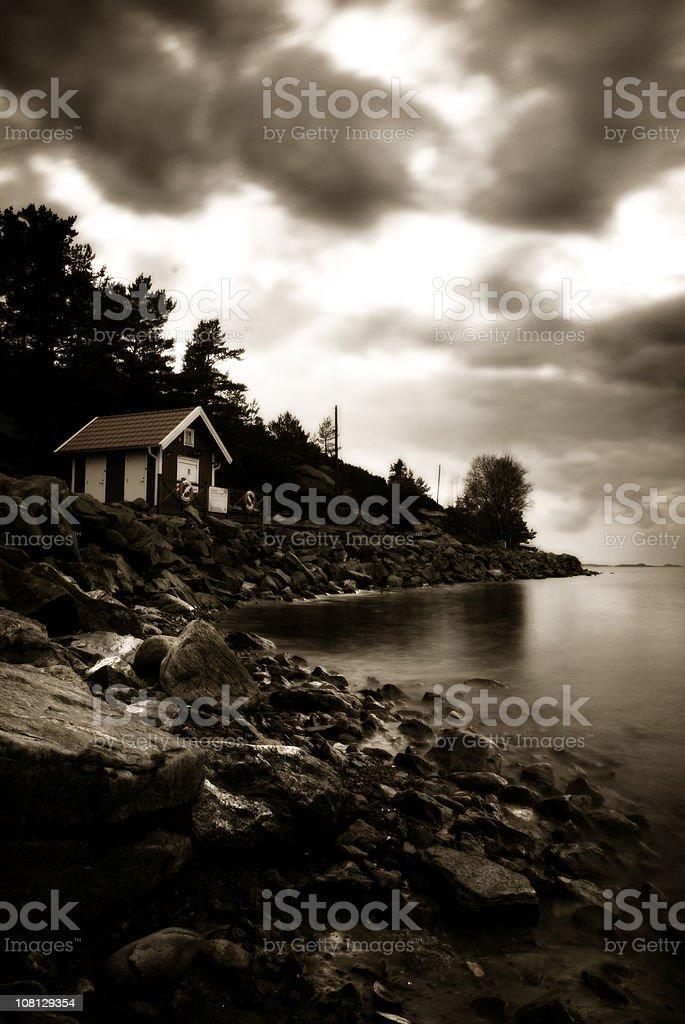 Mystic sea royalty-free stock photo