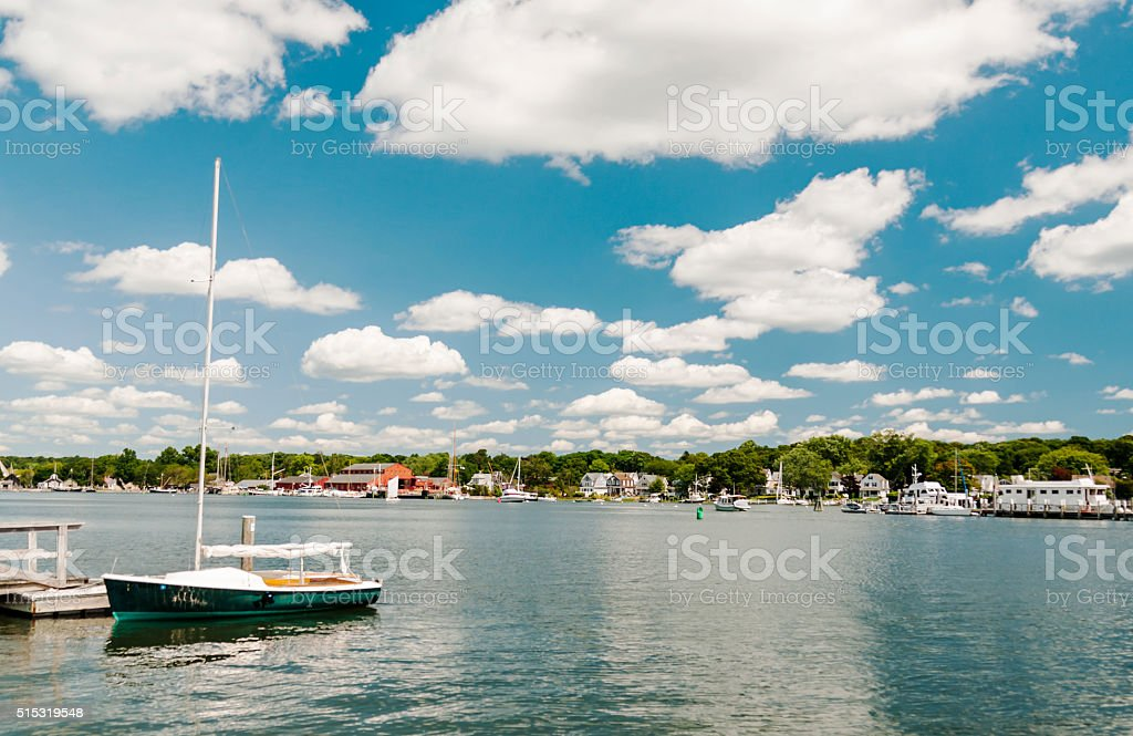 Mystic Seaport CT stock photo