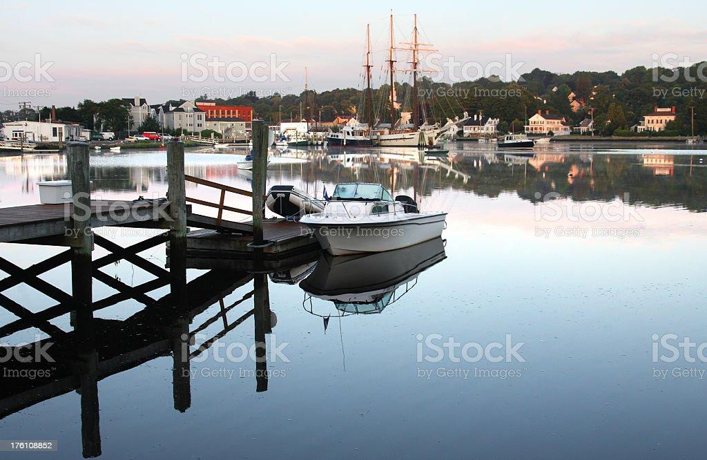Mystic Seaport stock photo