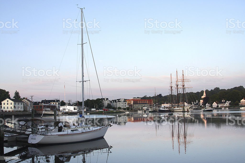 Mystic Seaport royalty-free stock photo