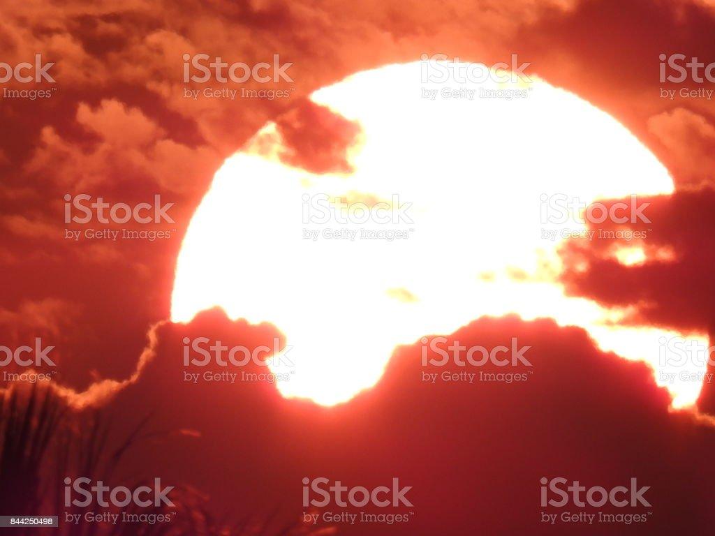Mystic Sunrise stock photo