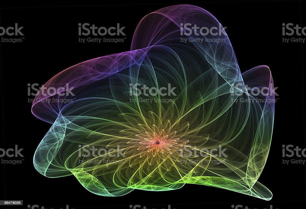 mystical flower royalty-free stock photo