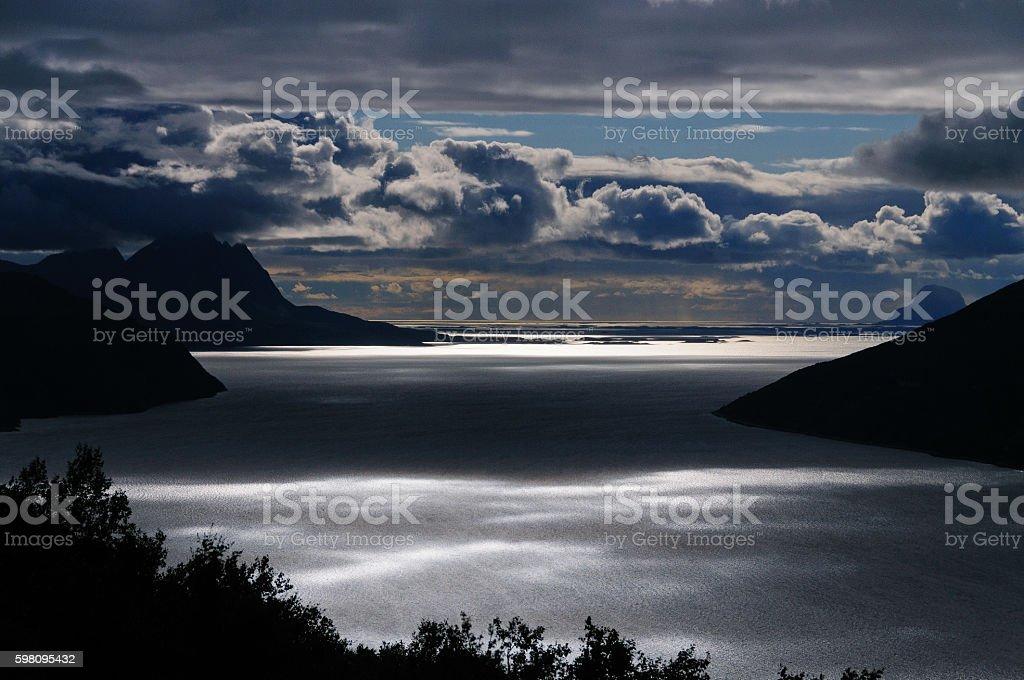 Mystical Landscape stock photo