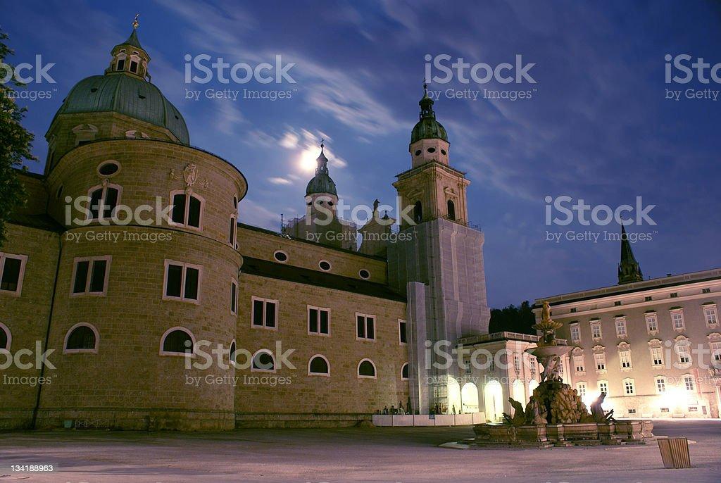 Mystical Salzburg royalty-free stock photo