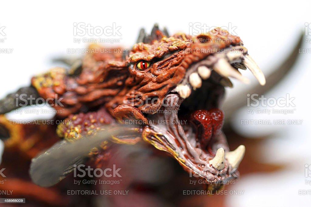 Mythic Rage stock photo