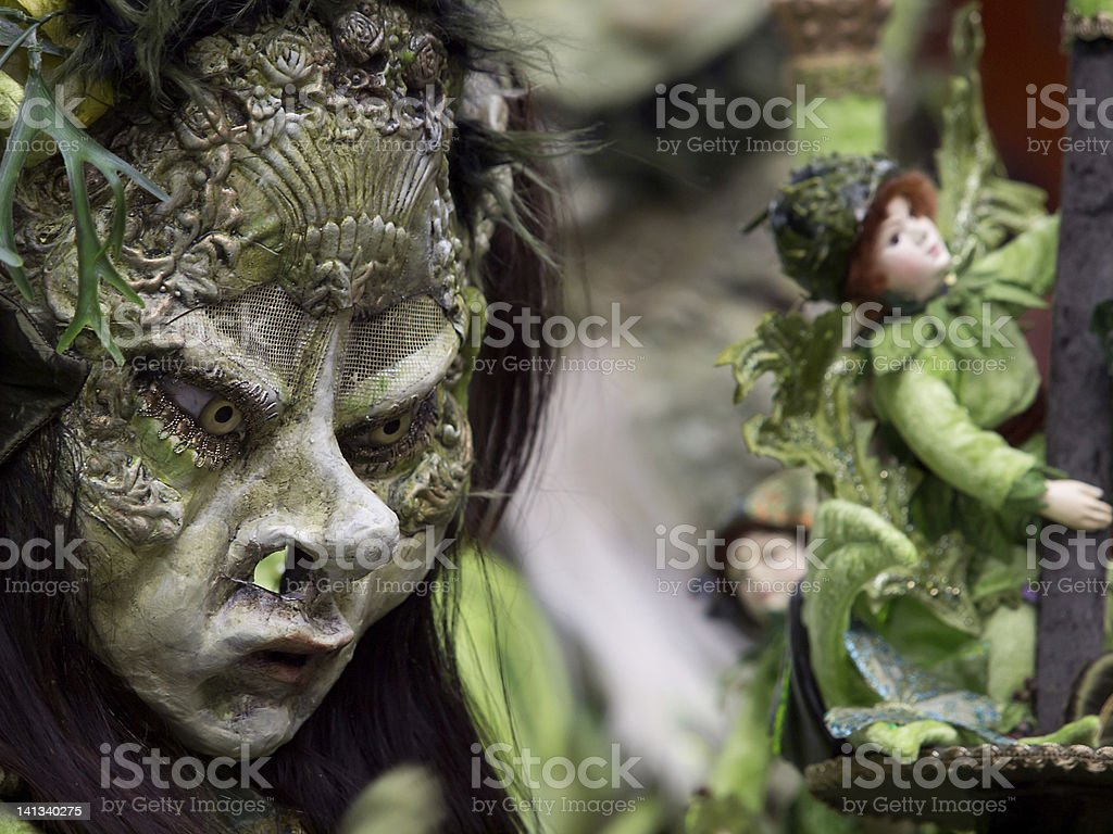 Mythical creature (Carnival Lucerne 2012) royalty-free stock photo