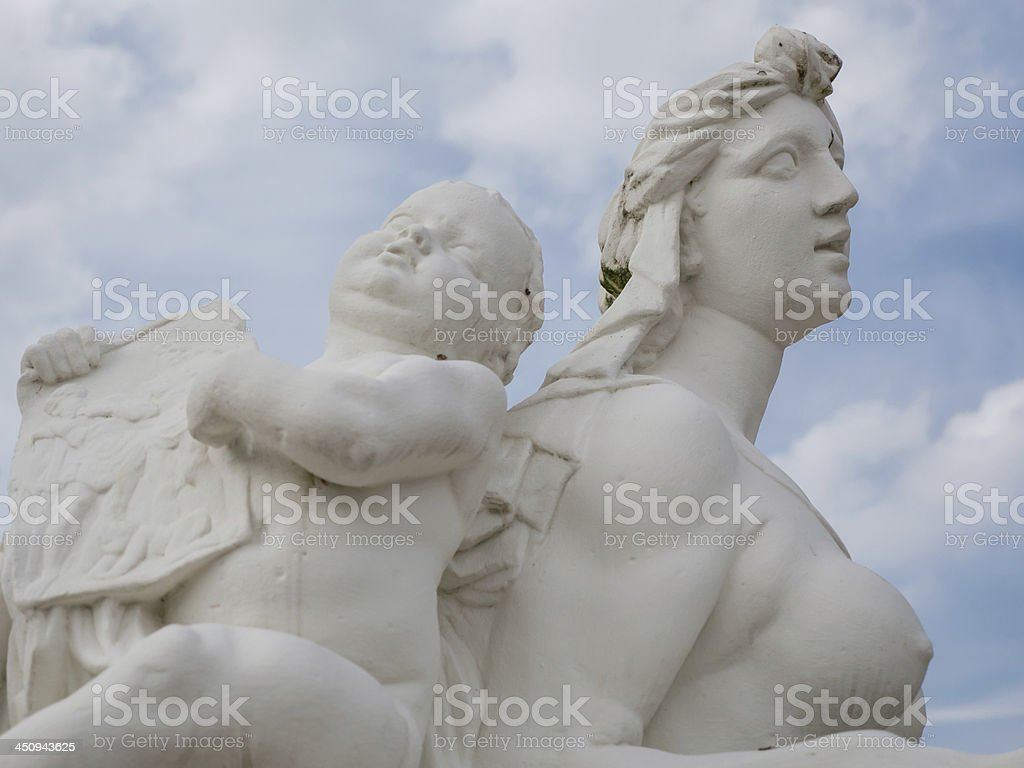 Mythological goddess of love Venus stock photo