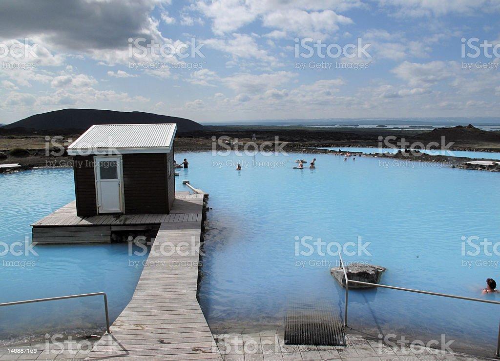 Myvatn, Iceland stock photo