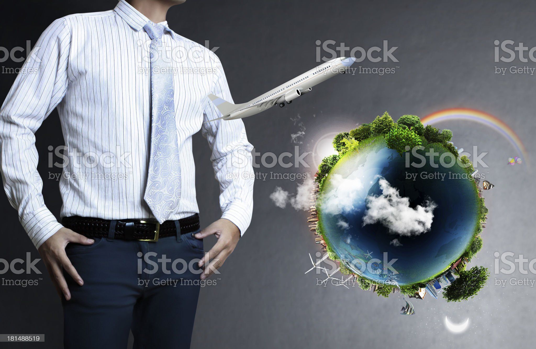 n looking to travel the world royalty-free stock photo