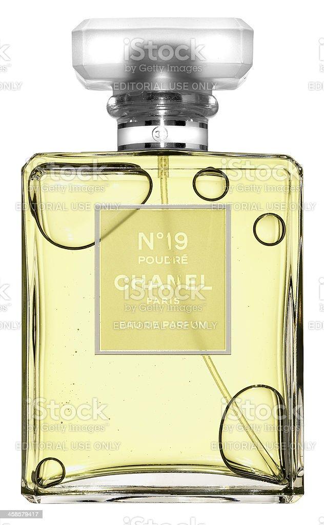 CHANEL n19 POUDRÈ EAU DE PARFUM royalty-free stock photo