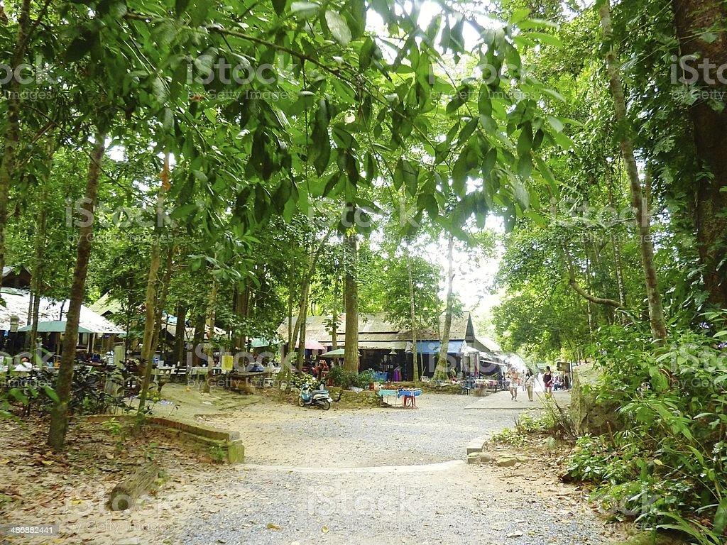 Na Muang Park in Ko Samui Thailand royalty-free stock photo