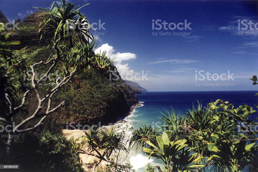 Na Pali Coast (4) royalty-free stock photo