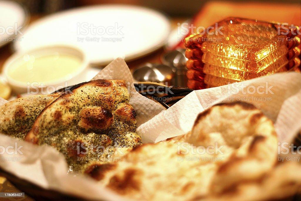 Naan Bread royalty-free stock photo