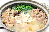 Nabe,Japanese cooking pot,Japanese food,