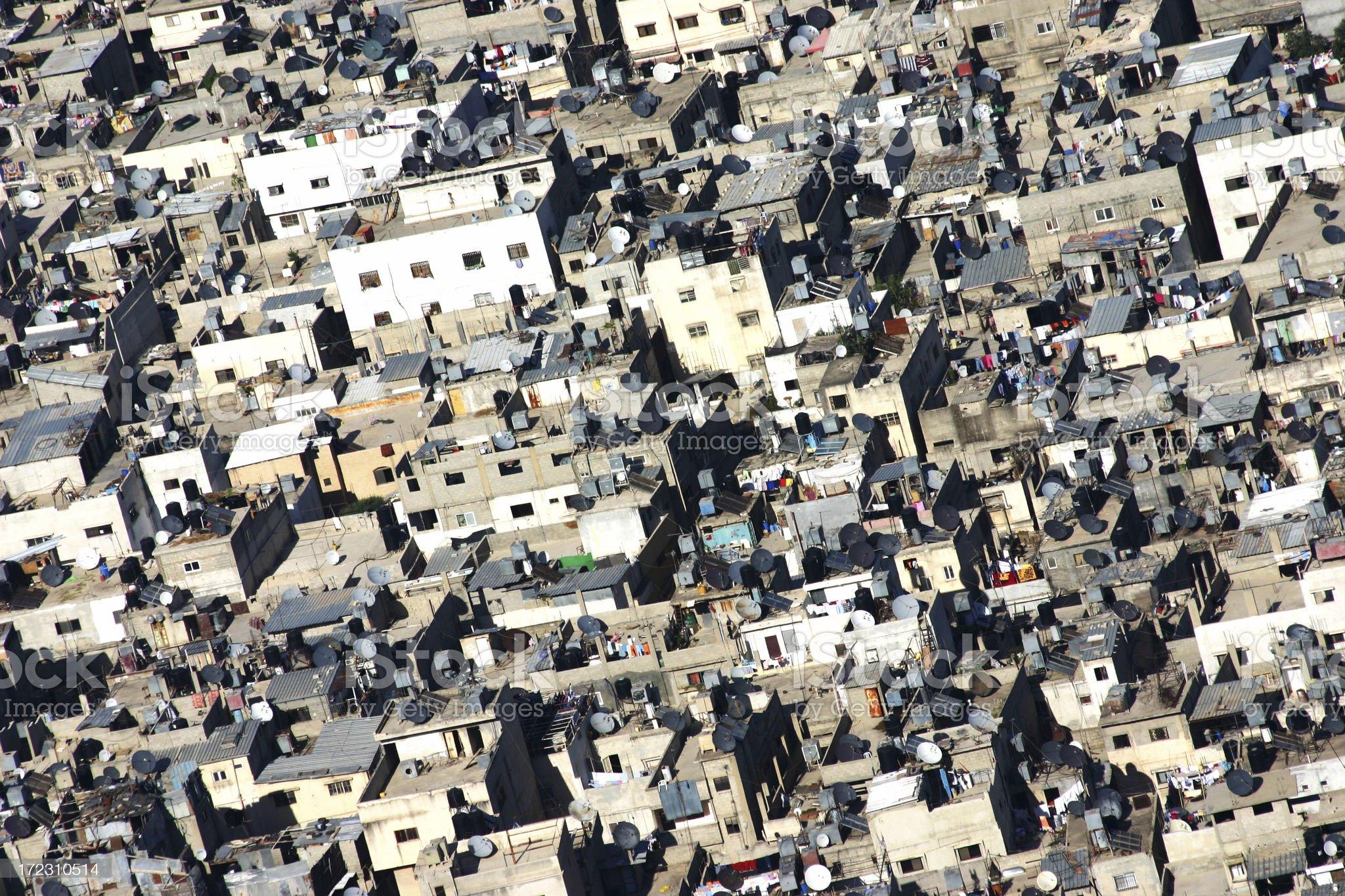 Nablus, West Bank royalty-free stock photo