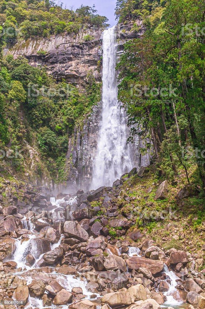 Nachi Falls  in Nachikatsuura, Wakayama Prefecture stock photo