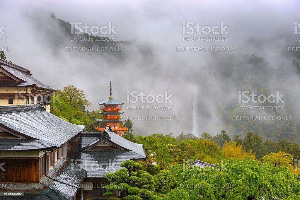Nachi Temple Japan stock photo