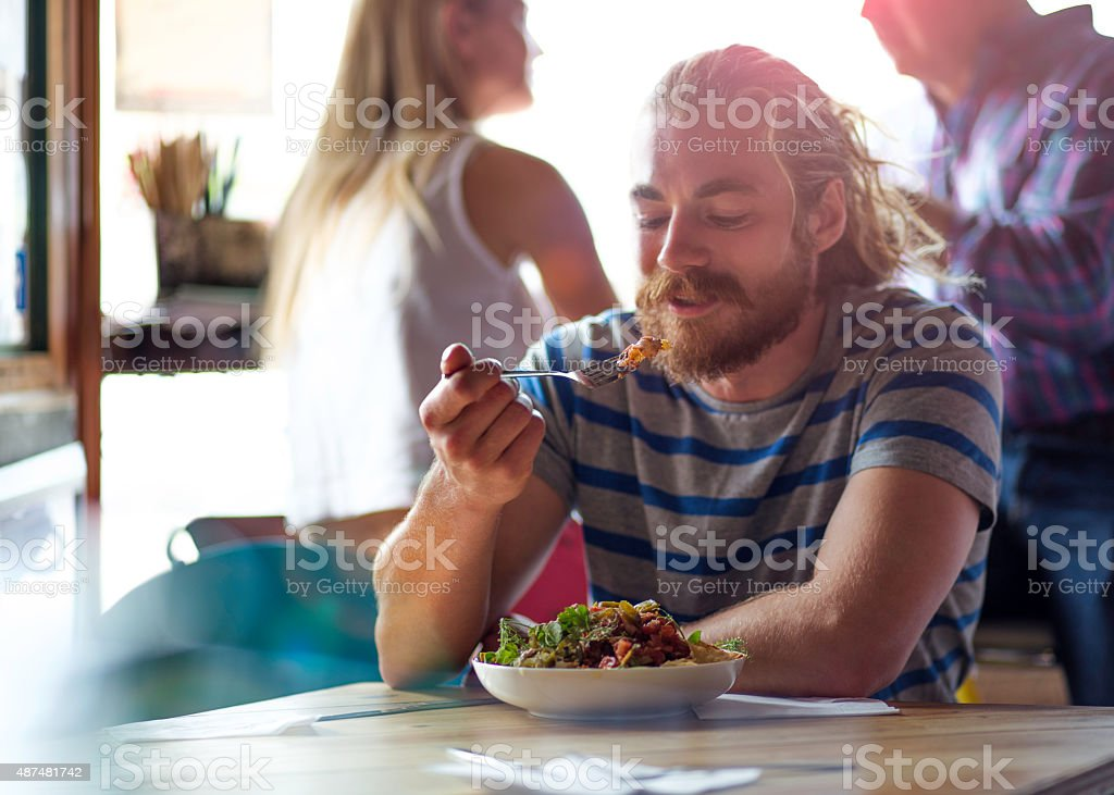 Nacho Time! stock photo