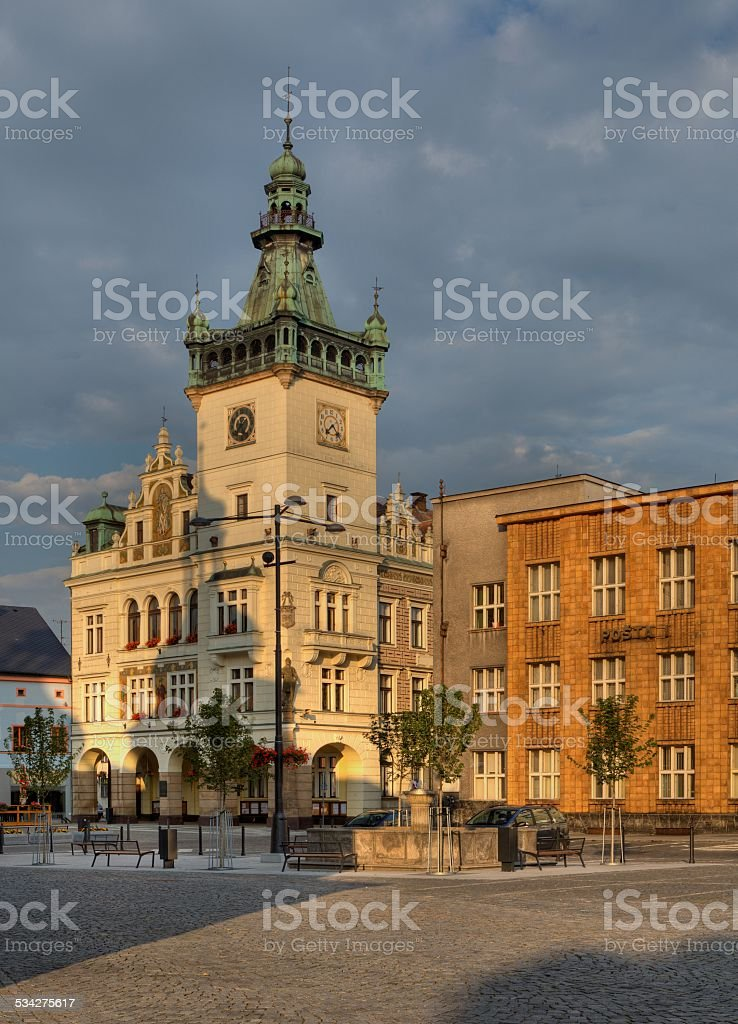 Nachod in Czech Republic stock photo