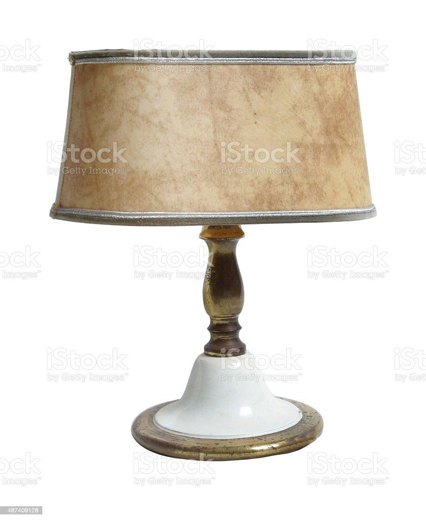 Nachttischlampe stock photo