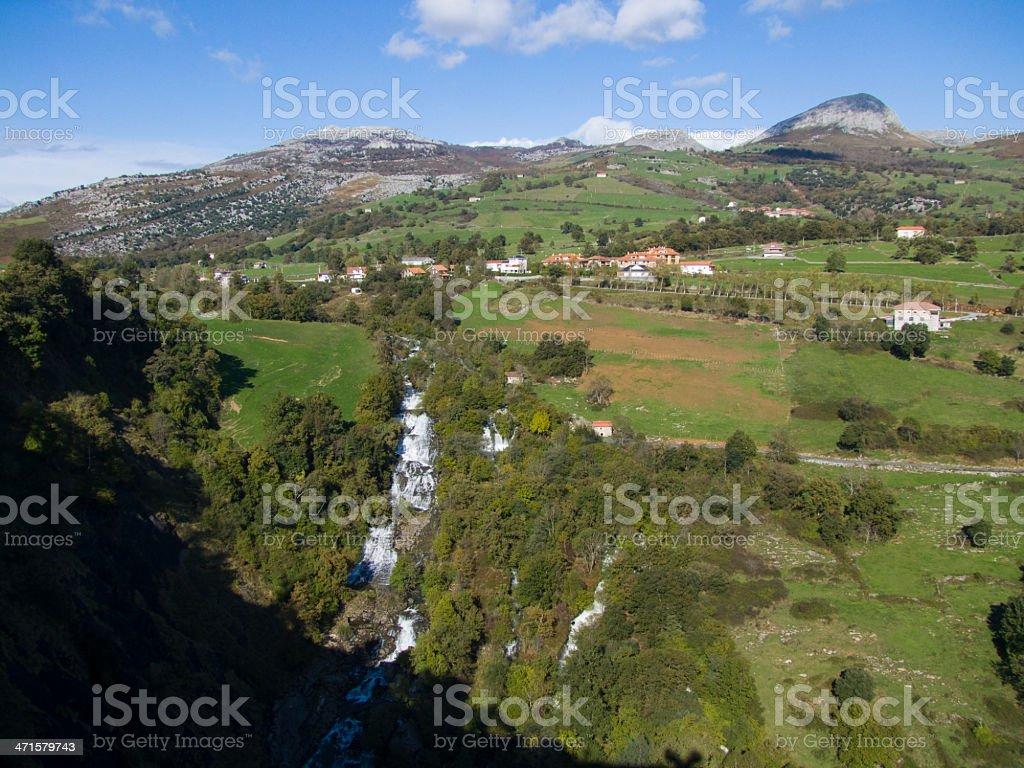 Nacimiento del rio Gandara, Cantabria. Esp??a. royalty-free stock photo