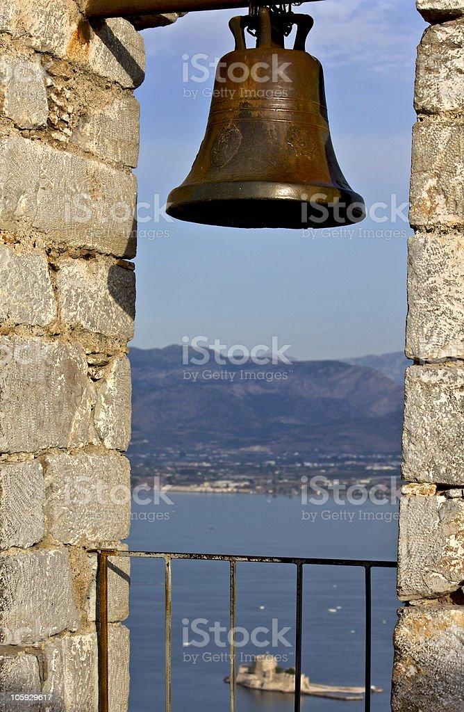 Nafplio city at Peloponnese, Greece stock photo