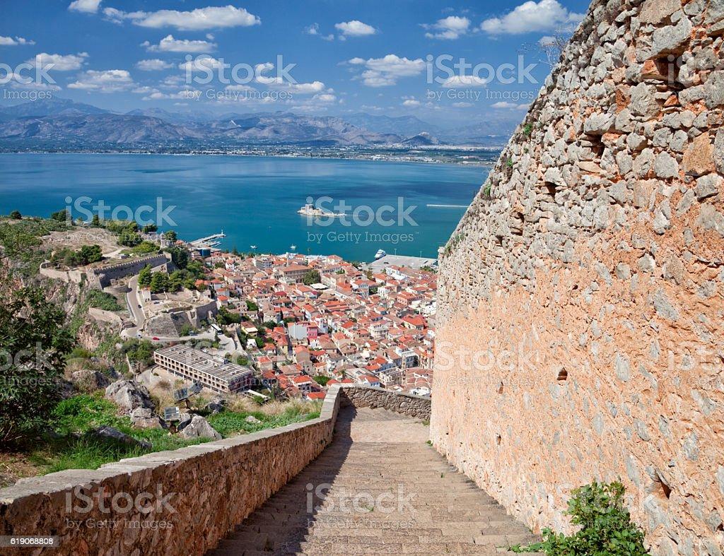 Nafplio city, Greece stock photo