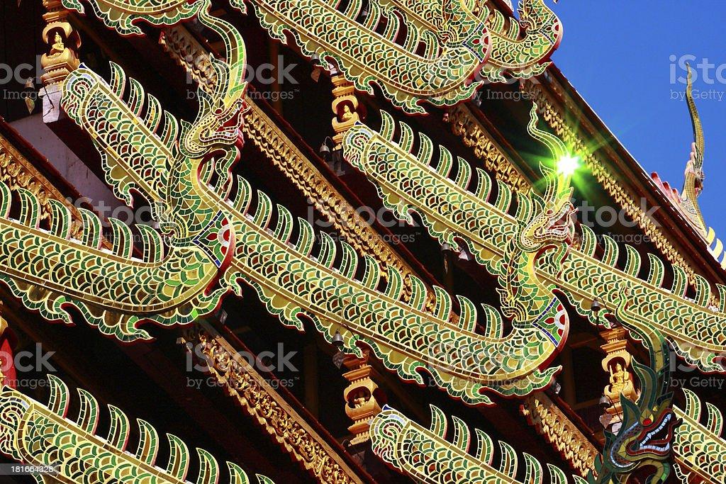 Naga and reflective light royalty-free stock photo