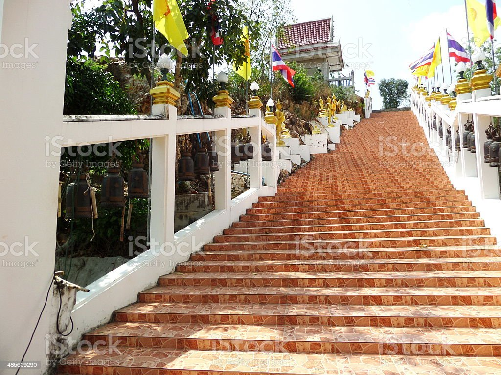 Naga Stair stock photo