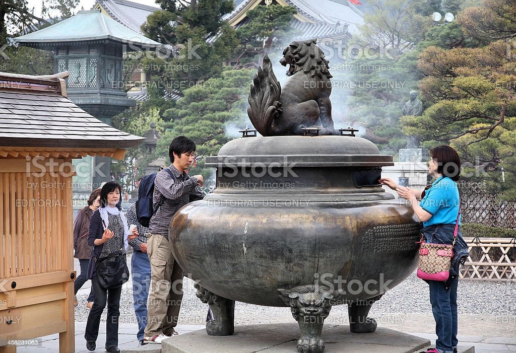 Nagano - Zenkoji Temple royalty-free stock photo