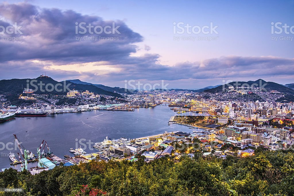 Nagasaki Japan stock photo