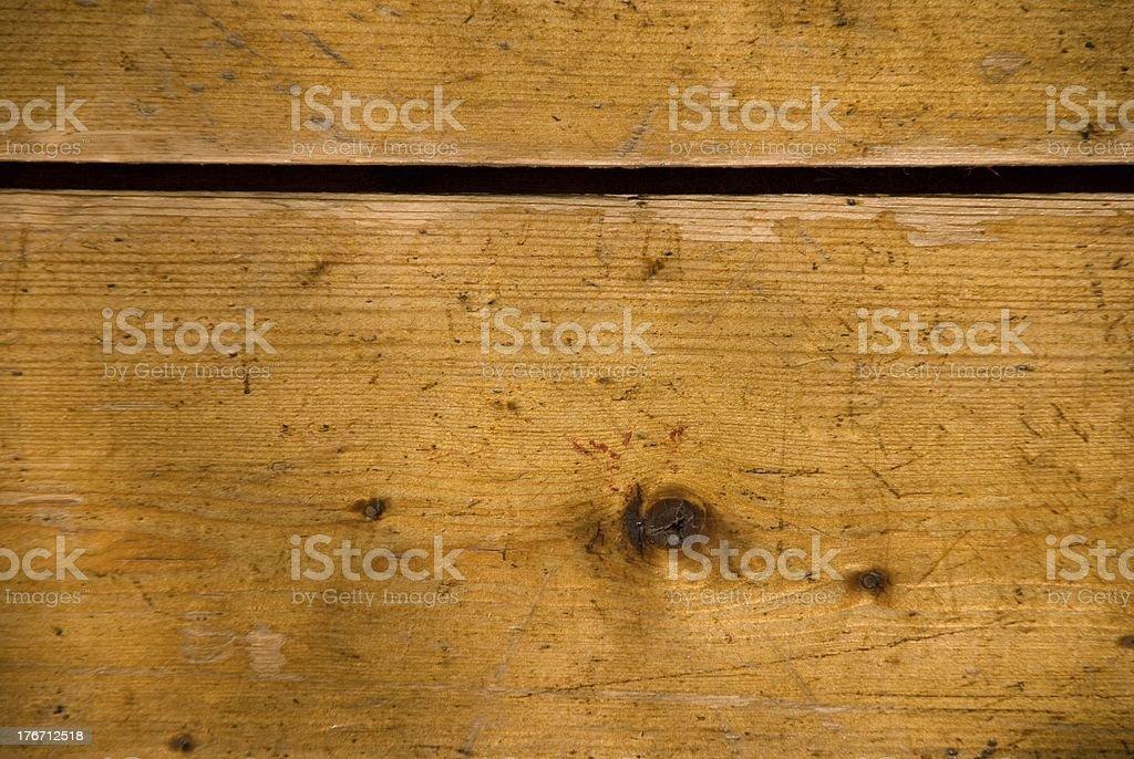 nagged plank stock photo