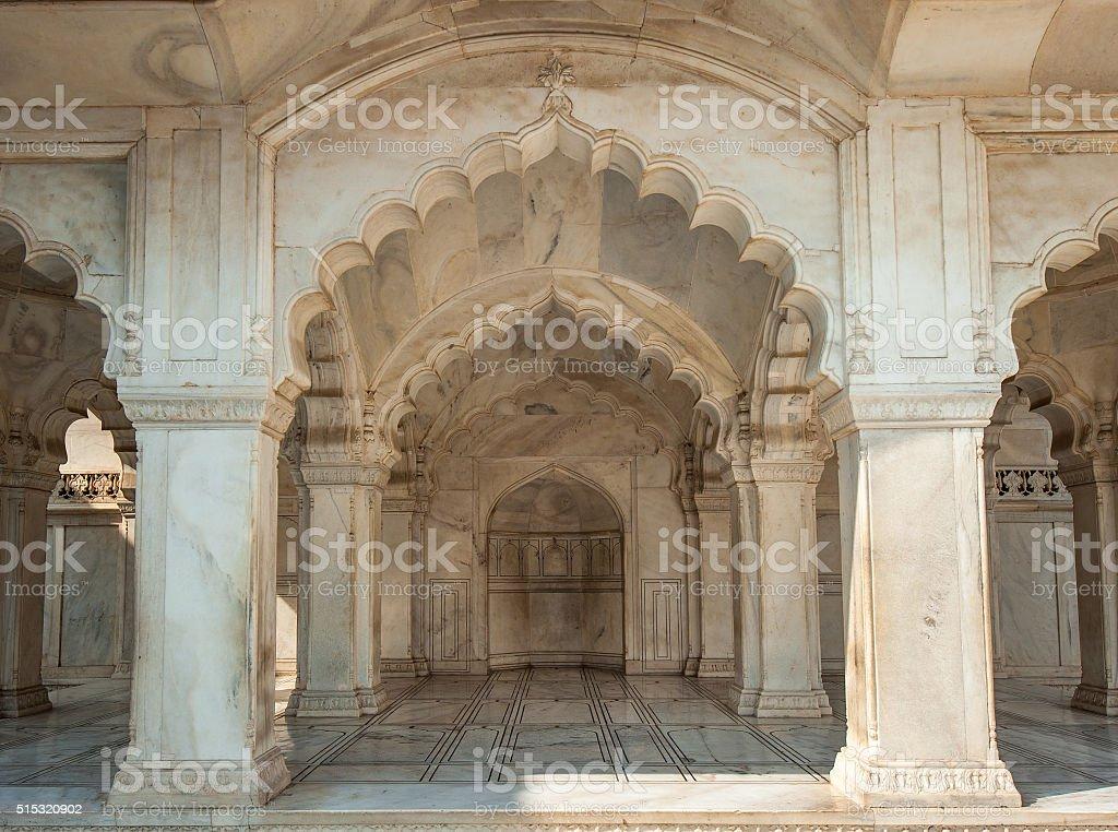 Nagina Mosque in Agra Fort, Uttar Pradesh, India stock photo