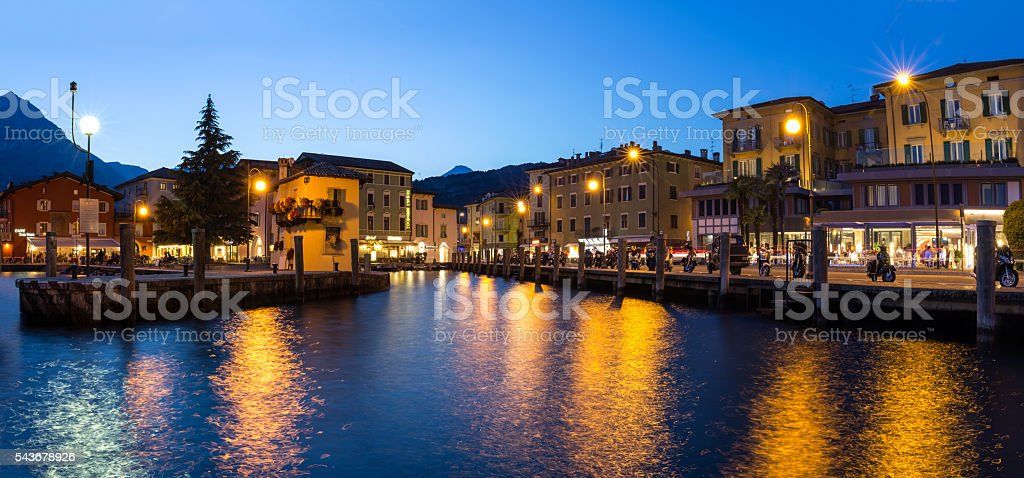 Nago Torbole stock photo