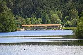 Nagold Stausee im Schwarzwald