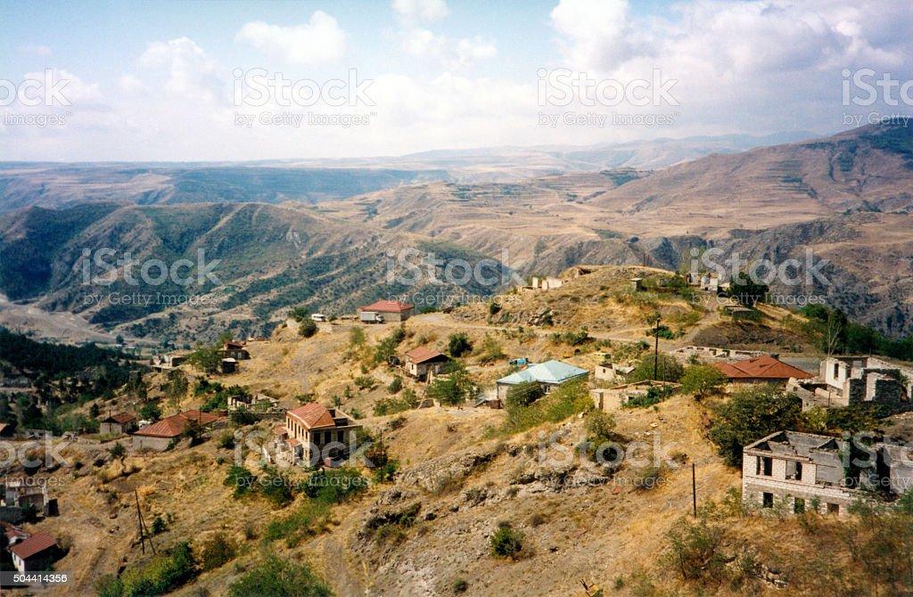 Nagorno-Karabakh mountains stock photo