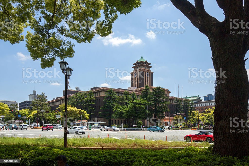 Nagoya City Hall stock photo