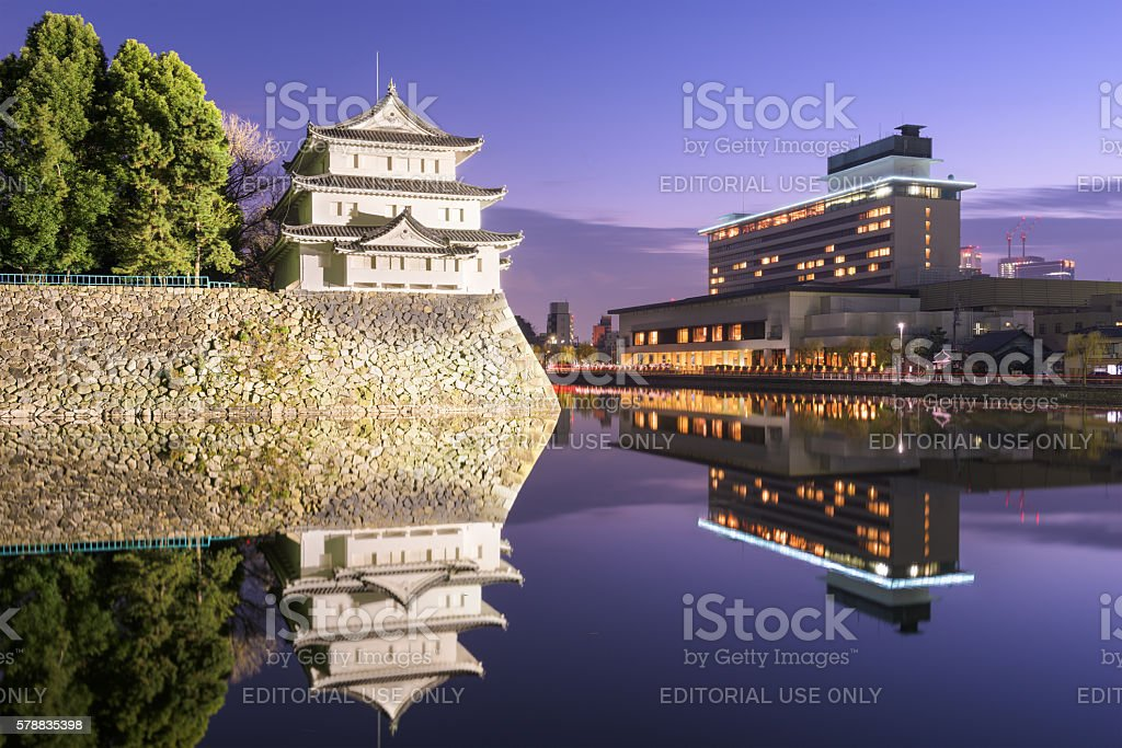 Nagoya Japan Castle stock photo