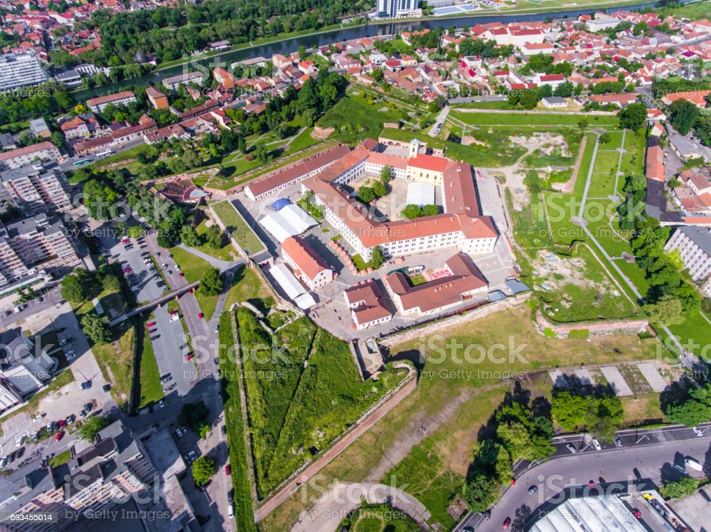 Nagyvarad (Oradea) walled Fortress, Bihor, Romania, Europe stock photo