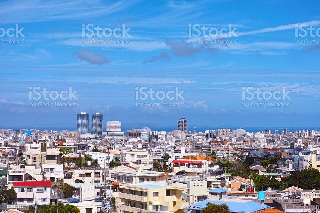 Naha landscape stock photo