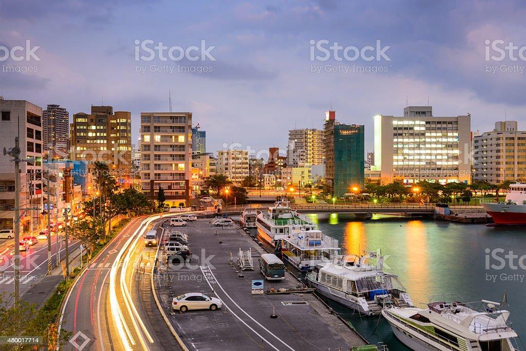 Naha Okinawa Cityscape stock photo