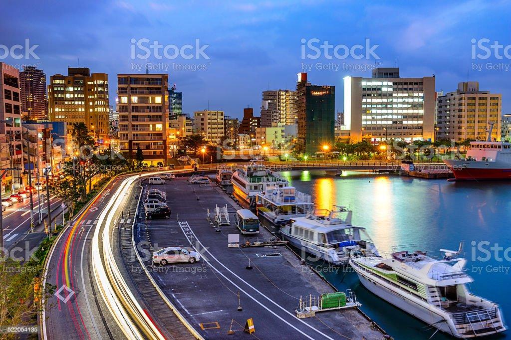 Naha, Okinawa, Japan Cityscape stock photo