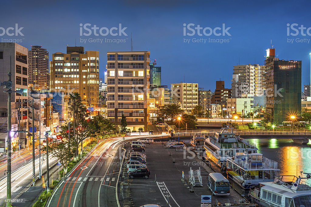 Naha, Okinawa, Japan stock photo