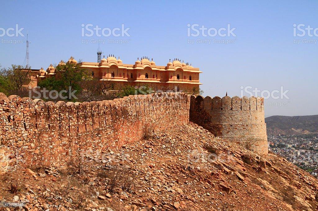 Nahagarh Fort stock photo