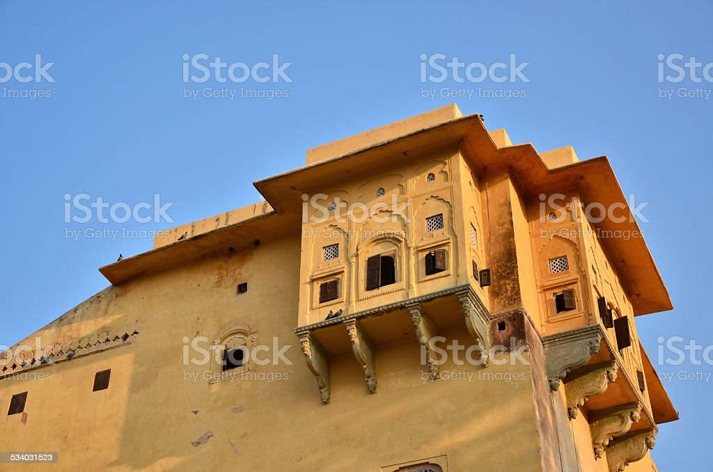 Nahargarh Fort, Jaipur, Rajasthan, India stock photo