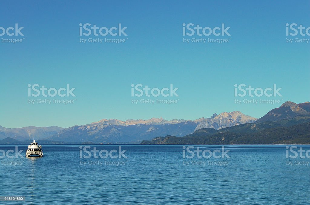 Nahuel Huapi Lake - Bariloche - Argentina stock photo