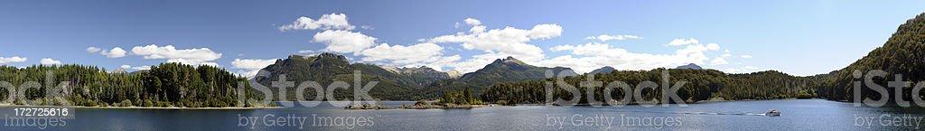 Nahuel Huapi Lake, Bariloche, Patagonia, Argentina stock photo