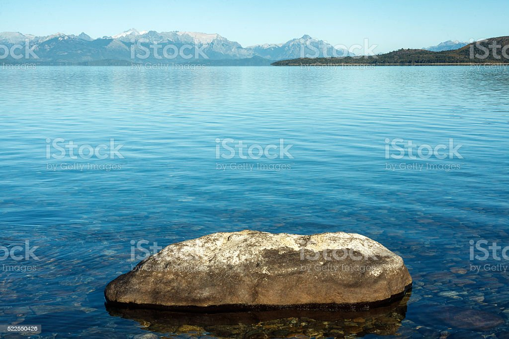 Nahuel Huapi lake. Bariloche, Patagonia Argentina stock photo
