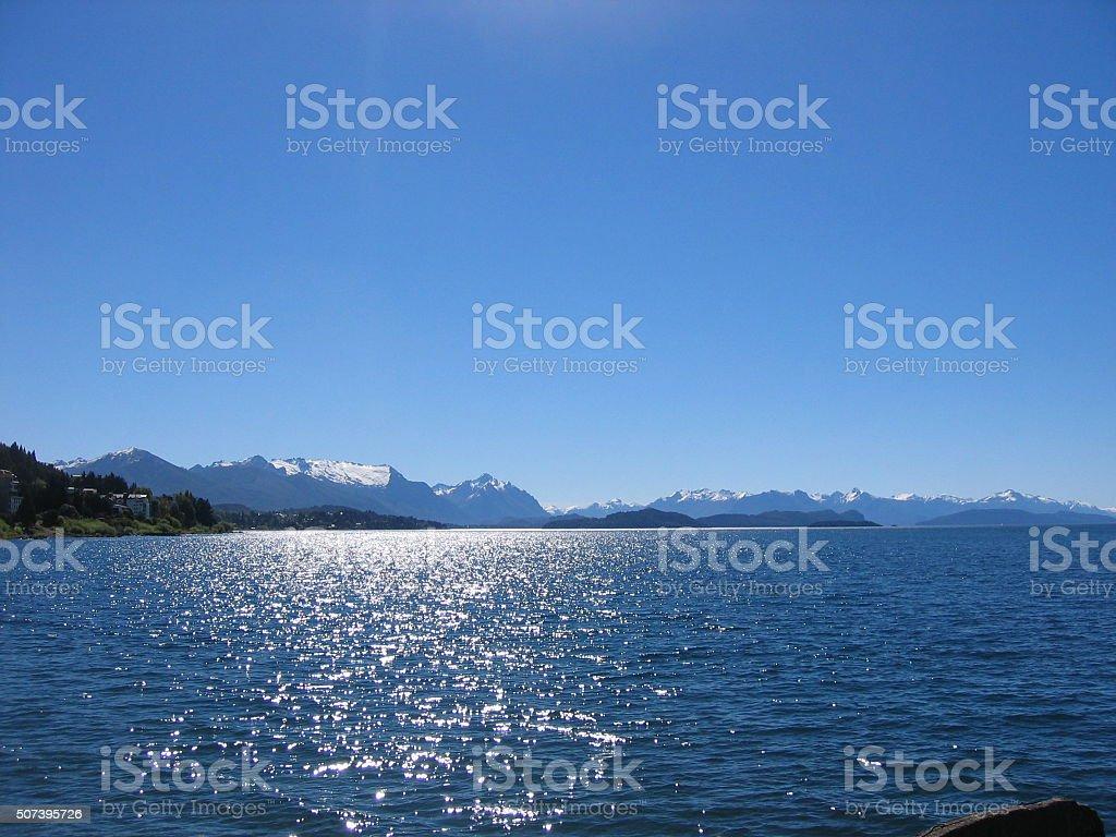 Nahuel Huapi Lake, stock photo