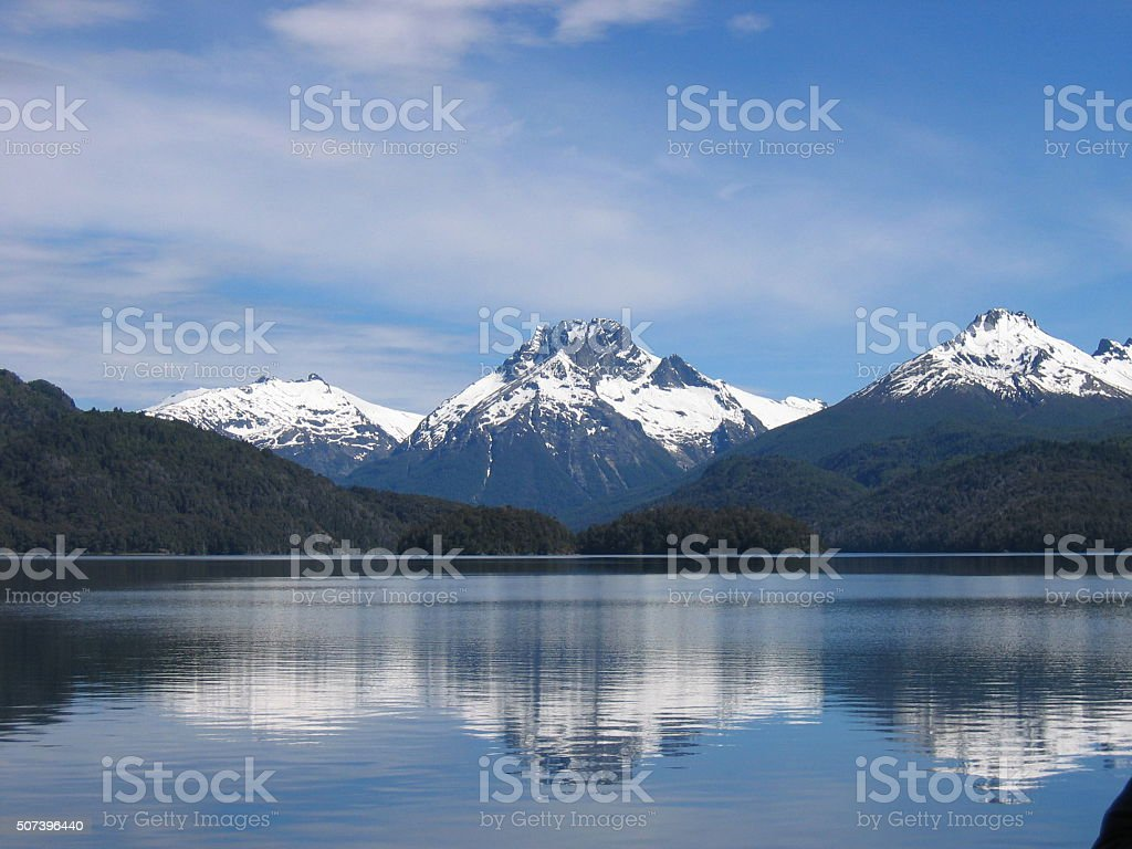 Nahuel Huapi National Park, Argentinian Patagonia stock photo